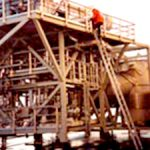 Montasje på Varmegjenvinningsanlegg til offshore.
